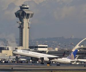 Kalifornie - letiště v Los Angeles